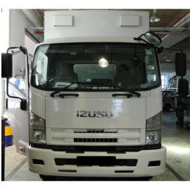 ISUZU FSR34SUQC (BOX WITH TAILGATE)
